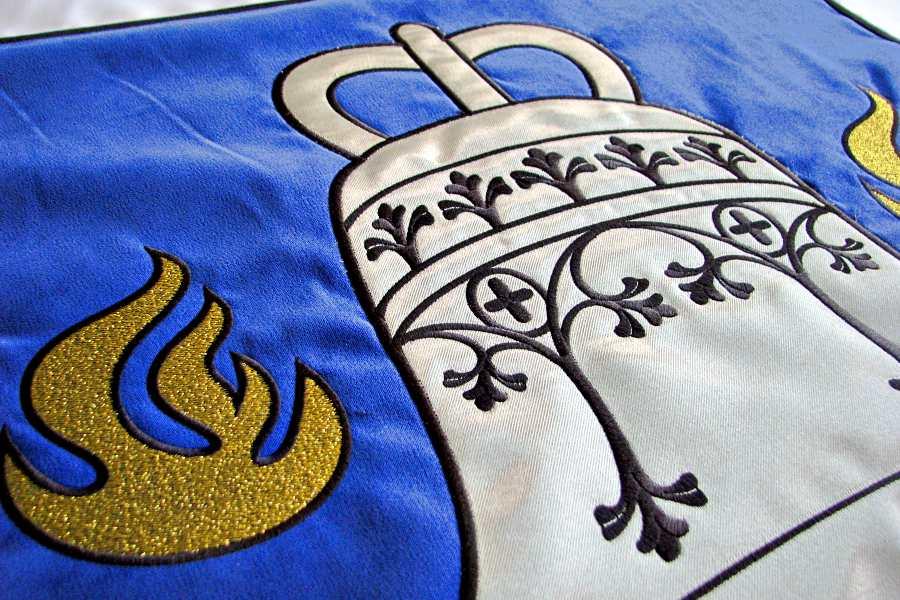 <span>Vėliavos</span>Bažnytinė vėliava